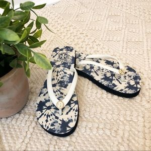 {Tory Burch} NEW Tie Dye Sandals